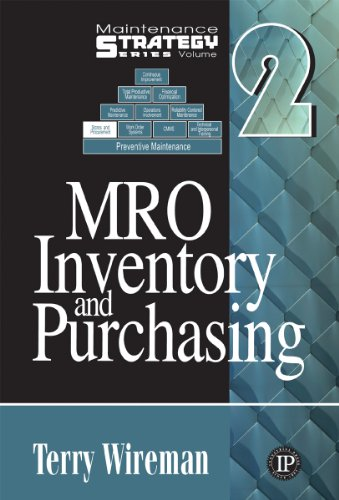 9780831133290: MRO Inventory and Purchasing (Maintenance Strategy Series)