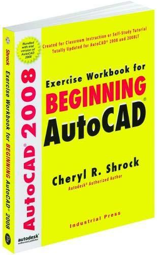 9780831133412: Exercise Workbook for Beginning Autocad 2008