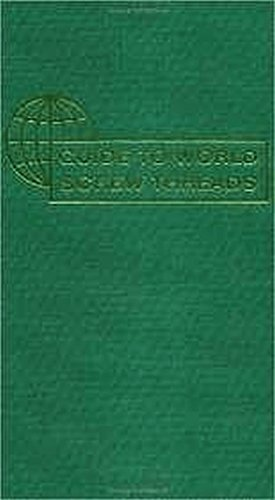 9780831134105: Guide to World Screw Threads