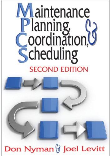 9780831134181: Maintenance Planning, Coordination, & Scheduling
