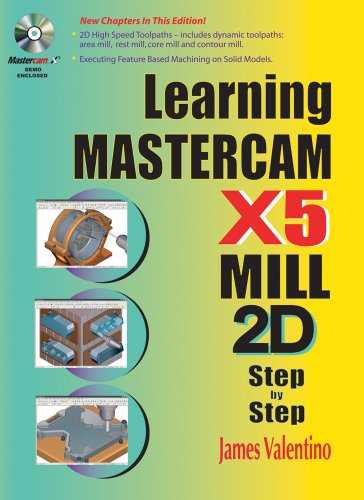 9780831134235: Learning Mastercam X5 Mill 2D Step-by-Step