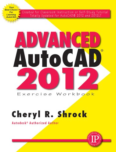 9780831134310: Advanced AutoCAD 2012 Exercise Workbook