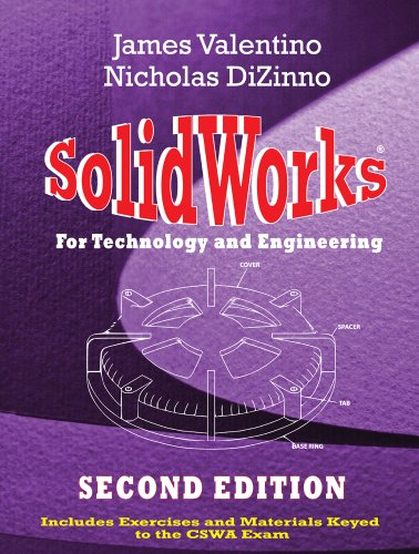 9780831134518: SolidWorks for Technology and Engineering