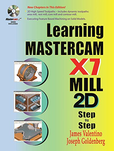 9780831134860: Learning Mastercam X7 Mill 2D Step by Step