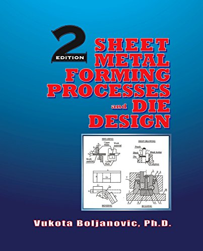 9780831134921: Sheet Metal Forming Processes and Die Design