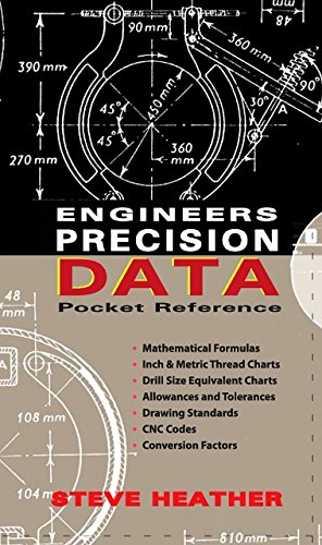 Engineers Precision Data Pocket Reference (Spiral): Steve Heather