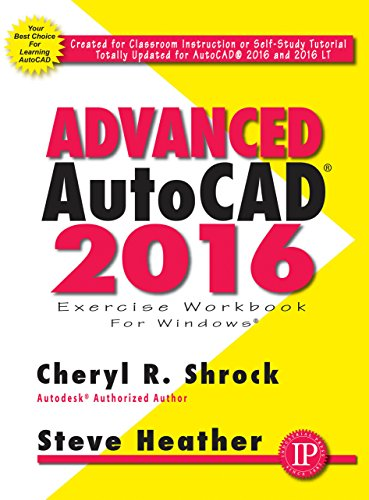 9780831135195: Advanced AutoCAD 2016 Exercise Workbook