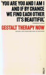 9780831400231: Gestalt therapy now: theory, techniques, applications,