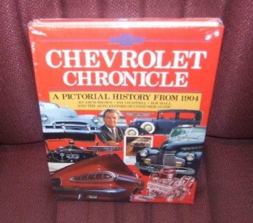 9780831712648: Chevrolet chronicle: A pictorial history from 1904