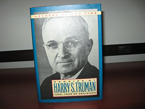 9780831715786: Memoirs by Harry S. Truman: 1945 : Year of Decisions (Modern Biography Series)