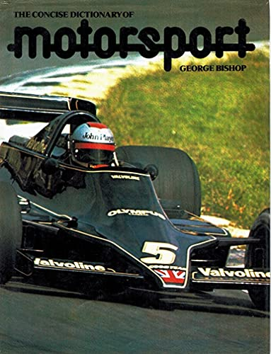 9780831717568: Concise Dictionary of Motorsport