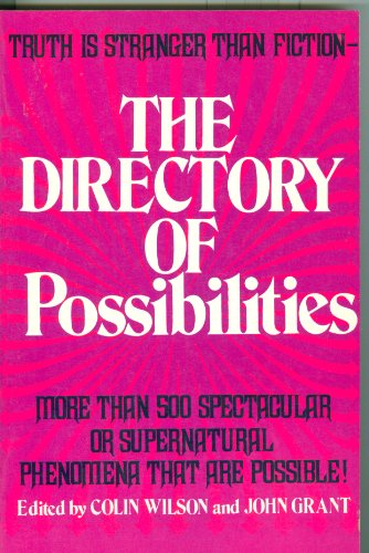 9780831723835: Title: The Directory of Possibilities