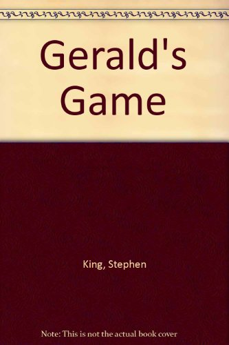 9780831727529: Gerald's Game