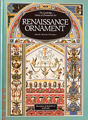 9780831739348: Renaissance Ornament from the 15th to the 17th Century (Cambridge Lib Series)