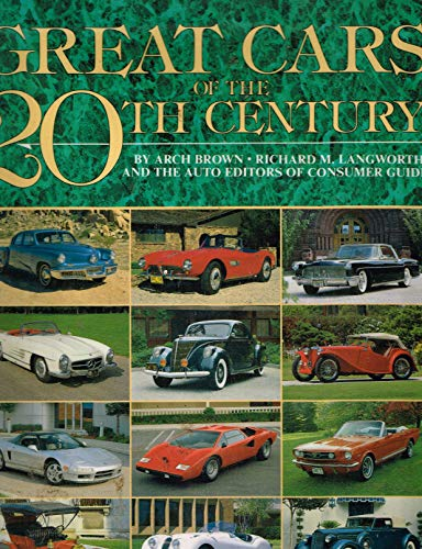 9780831739355: Great Cars of the 20th Century
