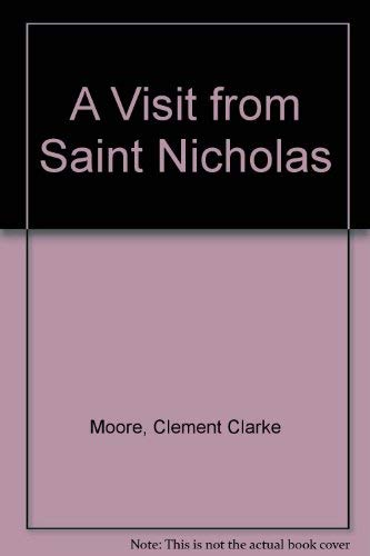 a visit from st nicholas by clement clarke moore