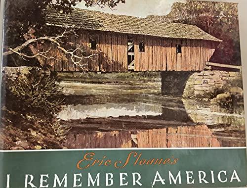 9780831749712: Eric Sloane's I Remember America