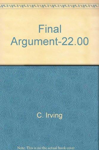 9780831753832: Final Argument-22.00