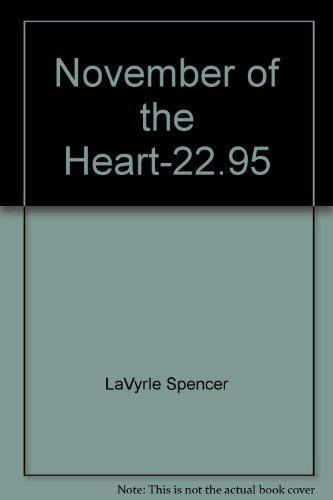 9780831765224: November of the Heart-22.95