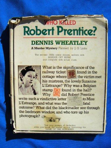 9780831774134: Who Killed Robert Prentice