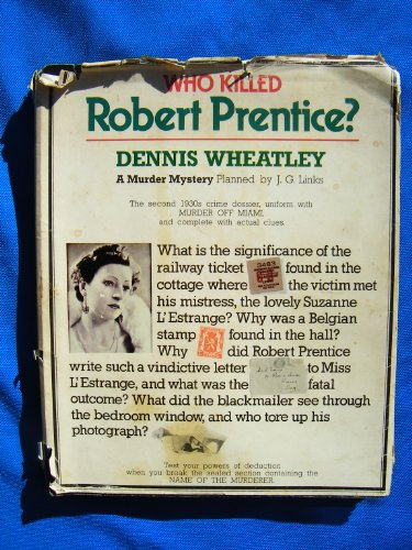 9780831774134: Who Killed Robert Prentice