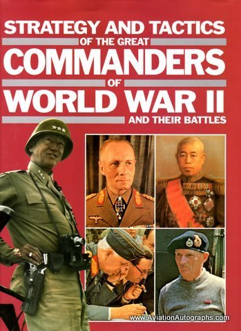 9780831780401: Strategy and Tactics of the Great Commanders of World War II