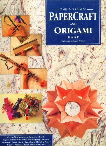 9780831781934: Ultimate Papercraft and Origami Book