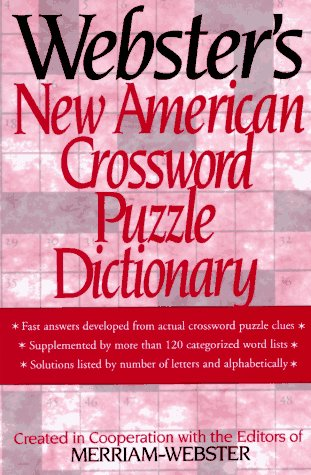 9780831791643: Webster's New American Crossword Puzzle Dictionary