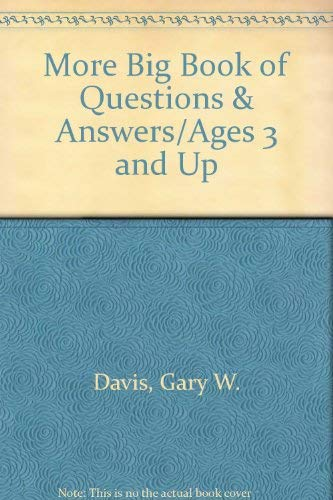 9780831797065: More Big Book of Questions and Answers