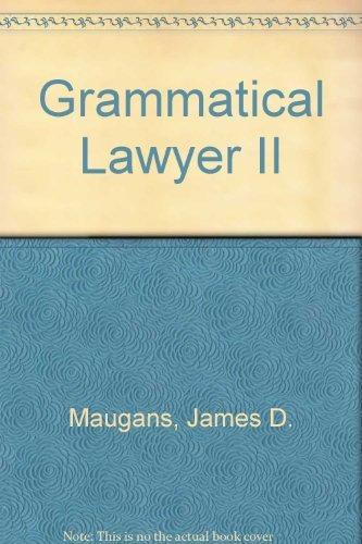 9780831807535: Grammatical Lawyer II