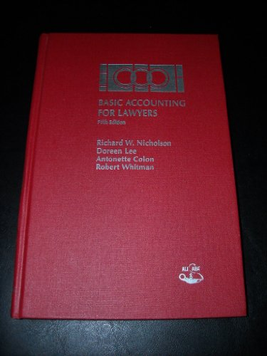 9780831807917: Basic Accounting for Lawyers