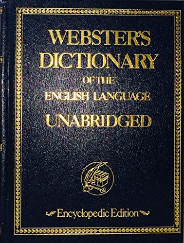 WEBSTER'S NEW UNIVERSAL DICTIONARY OF THE ENGLISH LANGUAGE: UNABRIDGED: Thumb Indexed: ...