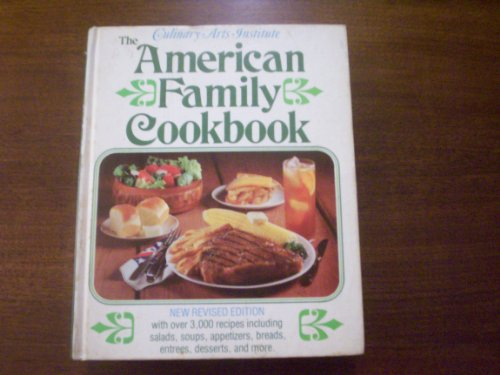 The American Family Cookbook: De Proft, Melanie,
