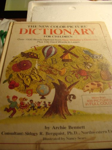 9780832622144: The new color-picture dictionary for children