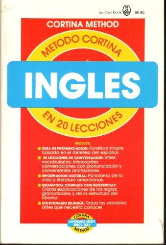 Metodo Cortina Ingles En 20 Lecciones: R.Diez De La