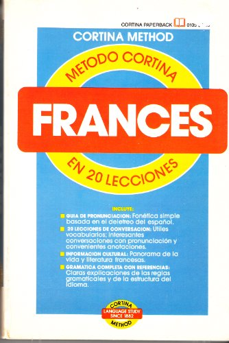 9780832701054: Frances en 20 Lecciones (Cortina Language Series)