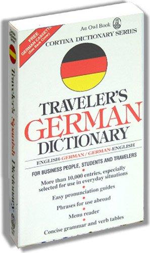 9780832707230: Traveler's German Dictionary: English-German/German-English (Cortina Language Series)