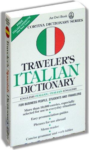 9780832707247: Traveler's Italian Dictionary: English-Italian, Italian-English (Cortina Language Series)
