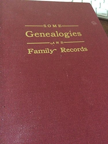 9780832845123: Straw - Some Genealogies and Family Records