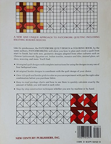Patchworking: A Quilt Design and Coloring Book (9780832902505) by Carol Ann Waugh; Judith Larsen