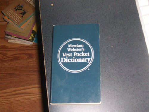 9780832915369: New Century Vest-Pocket Websters Dictionary