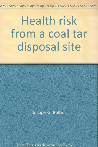 Health risk from a coal tar disposal site