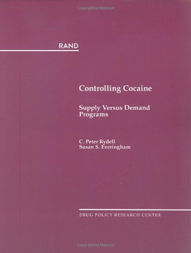 9780833015525: Controlling Cocaine: Supply Versus Demand Programs