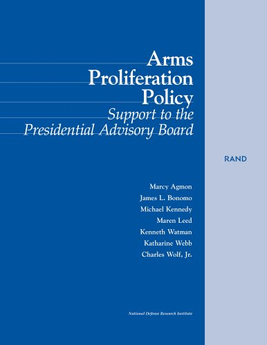 9780833024039: Arms Proliferation Policy: Support to the Presidential Advisory Board