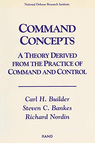 9780833024503: Command Concepts: A Theory Derived from the Practice of Command and Control