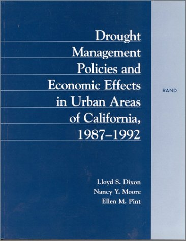 Drought Management Policies and Economic Effects in: L. Dixon, N.