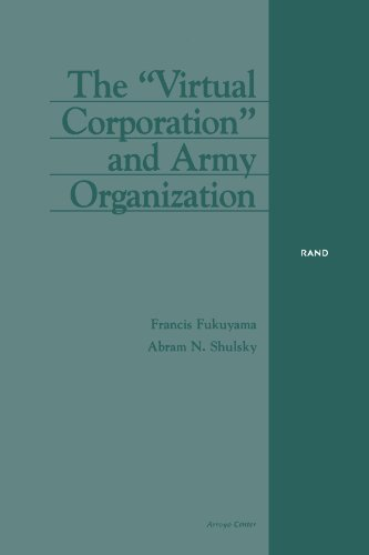9780833025326: The Virtual Corporation and Army Organization