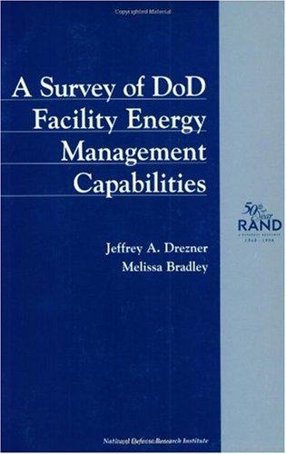 9780833025845: A Survey of DoD Facility Energy Management Capabilities