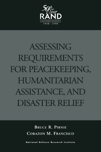 9780833025944: Assessing Requirements for Peacekeeping, Humanitarian Assistance, and Disaster Relief