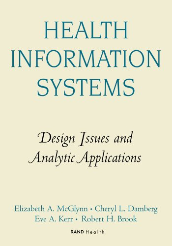 9780833025999: Health Information Systems: Design Issues and Analytic Applications (Directions in Health Services Research and Policy)